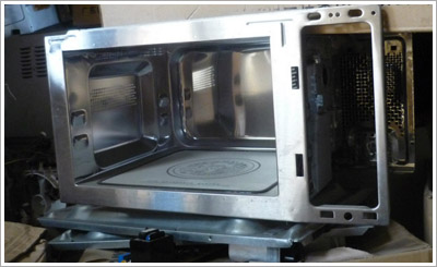 Galanze microwave oven metal chassis