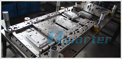 Microwave stove sheet metal part stamping die
