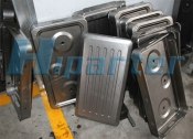 Gas range moulds