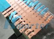 copper part progression die