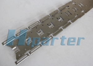 Auto part progressive die strip